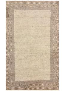 Antique White Gabbeh 3' x 4' 11 - No. 56460