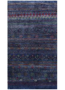 Medium Blue Gabbeh 2' 6 x 4' 5 - No. 56479