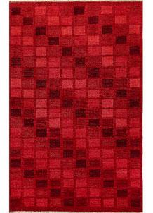 Dark Red Gabbeh 5' 6 x 8' 3 - No. 56509