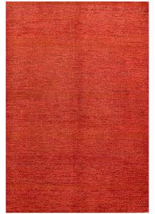 Orange Red Gabbeh 5' 5 x 8' - No. 56511