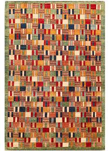 Multi Colored Gabbeh 5' 4 x 8' 2 - No. 56528