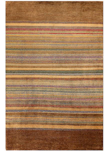 Multi Colored Gabbeh 5' 3 x 7' 11 - No. 56533