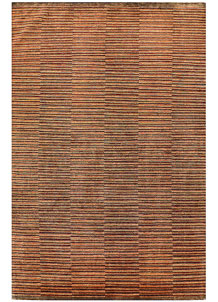 Multi Colored Gabbeh 6' 6 x 9' 8 - No. 56538
