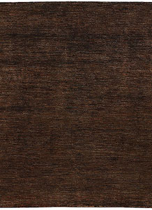 Saddle Brown Gabbeh 5' 2 x 5' 2 - No. 56543