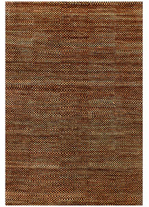 Saddle Brown Gabbeh 5' 5 x 7' 10 - No. 56547