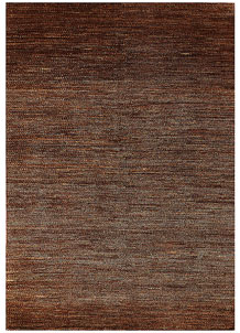 Saddle Brown Gabbeh 5' 7 x 7' 11 - No. 56551