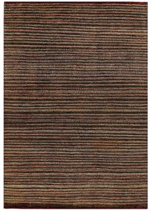 Saddle Brown Gabbeh 6' 6 x 9' 1 - No. 56567