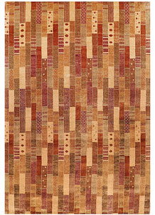 Multi Colored Gabbeh 6' 7 x 9' 8 - No. 56578