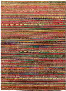 Multi Colored Gabbeh 10' 2 x 13' 5 - No. 56600