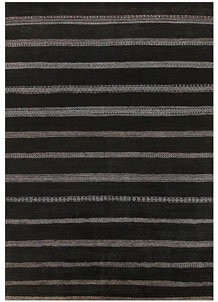 Black Gabbeh 10' x 14' 2 - No. 56604