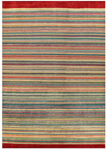 Multi Colored Gabbeh 10' x 14' - No. 56606