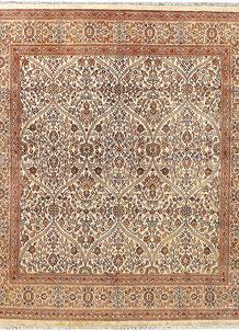 Cornsilk Sultanabad 7' 11 x 8' 5 - No. 56909