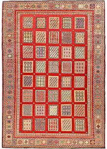 Orange Red Bakhtiar 6' 8 x 9' 5 - No. 56973