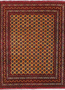 Orange Baluchi 5' x 6' 8 - No. 56987