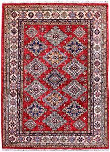 Firebrick Kazak 4' 11 x 6' 6 - No. 57209