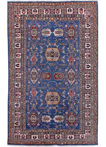 Blue Kazak 5' 7 x 7' 11 - No. 57214
