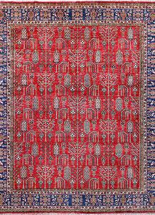 Firebrick Kazak 8' 2 x 9' 8 - No. 57220