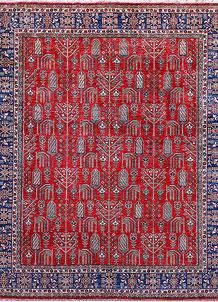 Firebrick Kazak 8' 2 x 9' 8 - No. 57221