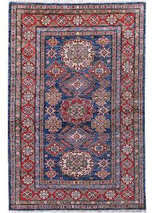 Dark Blue Kazak 4' x 5' 10 - No. 57222