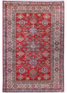 Firebrick Kazak 3' 11 x 5' 9 - No. 57227