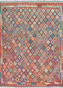 Multi Colored Kilim 8' 8 x 11' 1 - No. 57293