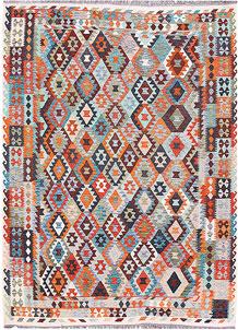 Multi Colored Kilim 8' 3 x 11' 4 - No. 57305