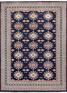 Dark Blue Caucasian 8' 3 x 11' 2 - No. 58537