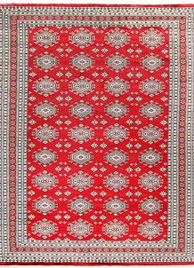Red Caucasian 9' 3 x 12' 6 - No. 58546