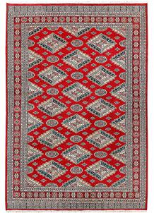 Firebrick Caucasian 6' 3 x 9' 1 - No. 58568