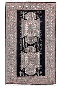Black Caucasian 4' 11 x 8' - No. 58572