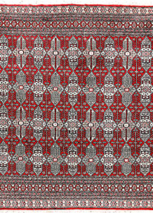 Firebrick Caucasian 6' 9 x 6' 2 - No. 58573