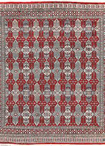 Firebrick Caucasian 6' 7 x 7' 9 - No. 58577