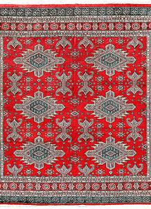 Firebrick Caucasian 6' 9 x 6' 8 - No. 58578