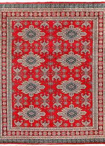 Red Caucasian 6' 9 x 8' 7 - No. 58584