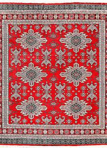 Red Caucasian 6' 9 x 7' 5 - No. 58587