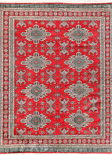 Red Caucasian 6' 10 x 8' 5 - No. 58590
