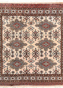 Bisque Caucasian 6' 10 x 6' 10 - No. 58605