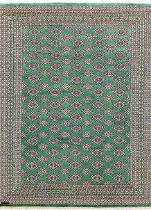 Sea Green Jaldar 8' 2 x 11' - No. 59129