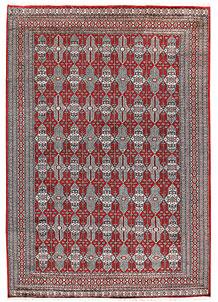 Firebrick Caucasian 6' 8 x 9' 11 - No. 59182