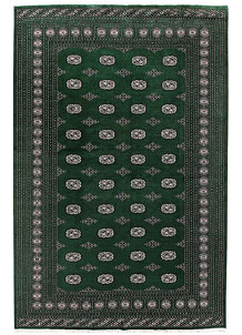 Darkgreen Bokhara 6' 7 x 10' 2 - No. 59288