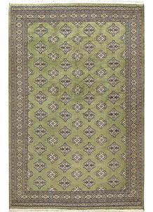 Olive Jaldar 6' 9 x 10' 2 - No. 59294
