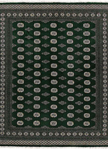 Darkgreen Bokhara 8' 2 x 9' 7 - No. 59468