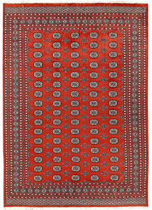 Orange Red Bokhara 8' x 11' 1 - No. 59492