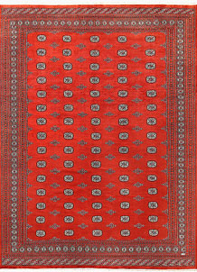 Orange Red Bokhara 10' 2 x 14' 3 - No. 59614