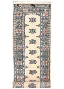 Cornsilk Bokhara 2' 6 x 10' 5 - No. 59693