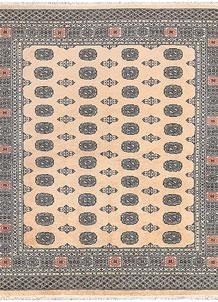Bisque Bokhara 6' 10 x 7' 10 - No. 59719