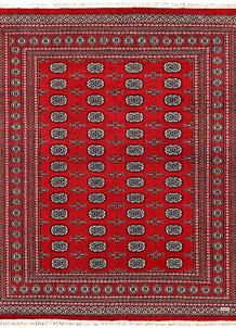 Firebrick Bokhara 6' 10 x 8' 3 - No. 59721