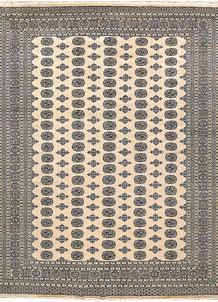 Bisque Bokhara 9' 2 x 12' 5 - No. 59959