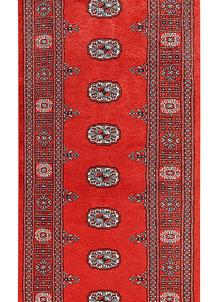 Orange Red Bokhara 2' 7 x 14' - No. 60037