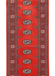 Orange Red Bokhara 2' 6 x 14' - No. 60039